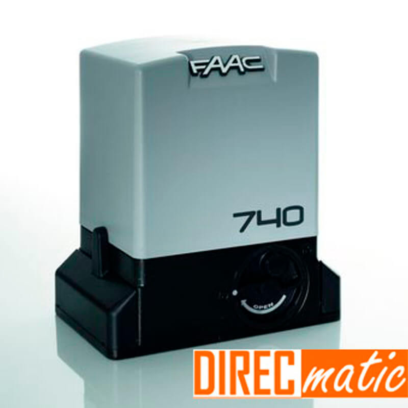 Kit completo faac 740 motor puerta corredera 500 kg for Precio motor puerta corredera